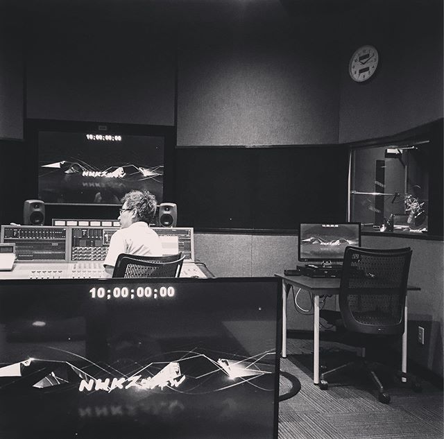 Today's office.  #nhk #tokyo #nhkworld #japan #vo #recording #documentary #narration #voice #studio #postproduction #声優 #スタジオ #東京 #ドキュメンタリー映画 #番組 #仕事 #録音 #ナレーション