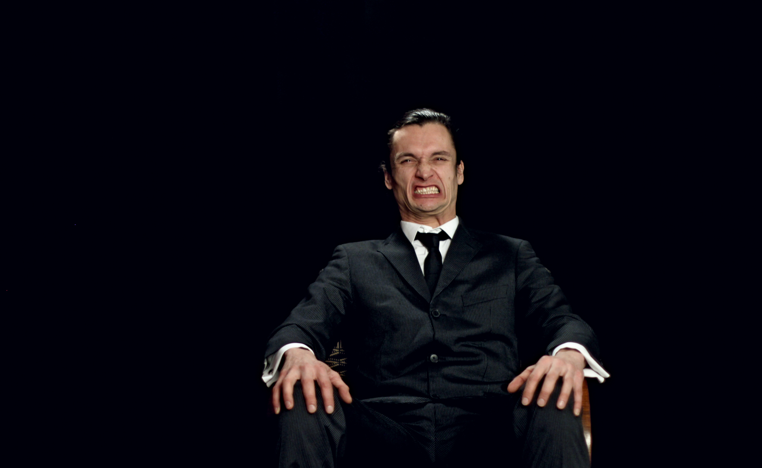 Mattias Härenstam, Portrait of a smiling man (video still), 2010. Image courtesy of the artist.