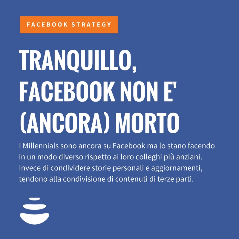 Facebook non è (ancora) morto