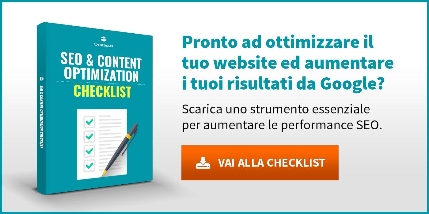 SEO Content Optimization Checklist