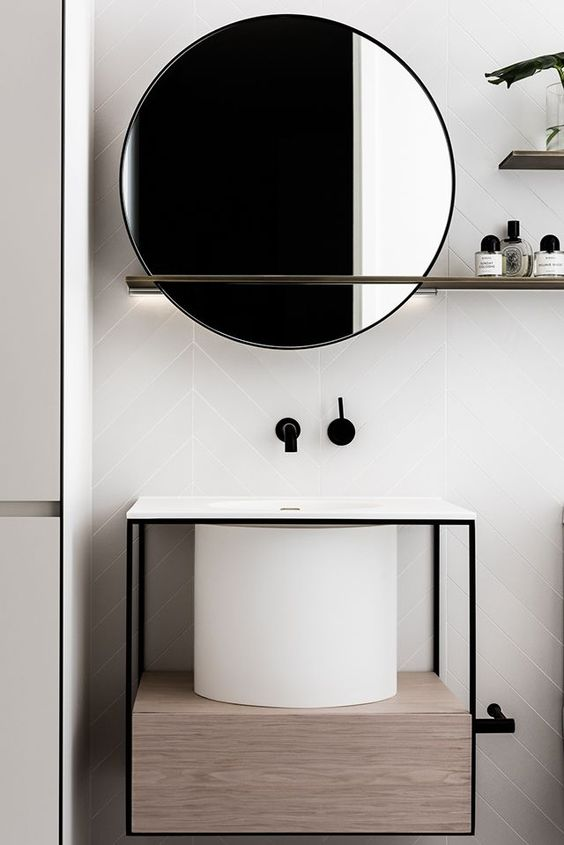 black outlines define the space.