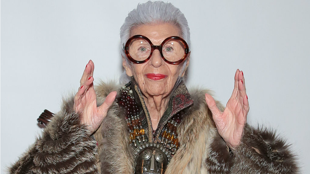 """According to Iris Apfel, great personal style is about knowing yourself, staying curious, and maintaining a sense of humor. Her career as an interior designer and textile maker has taken her to far corners of the world. To Quote Iris """" There is no how to road map to style. Its about self expression, and above all, attitude."""""""