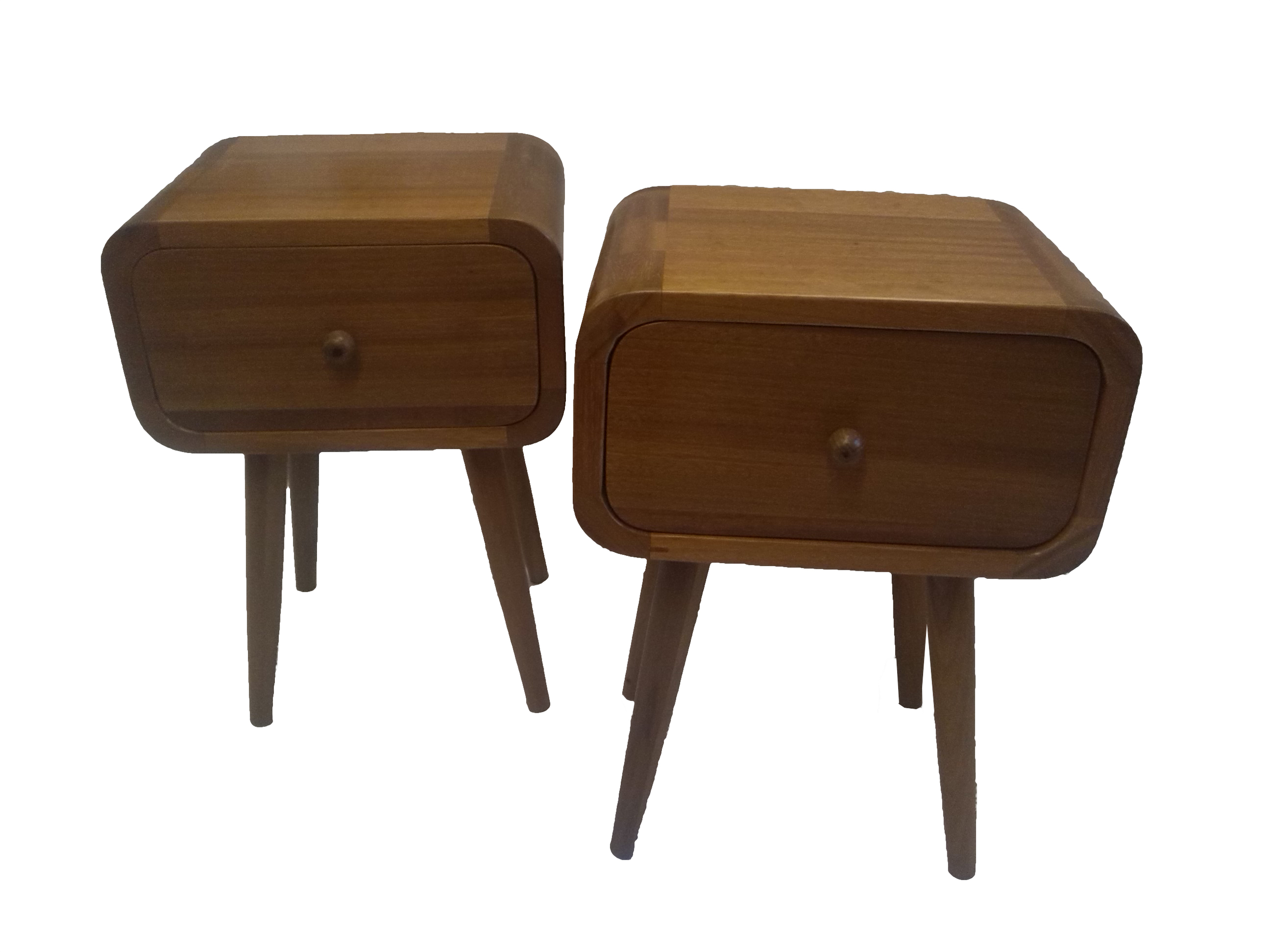Retro bedside tables