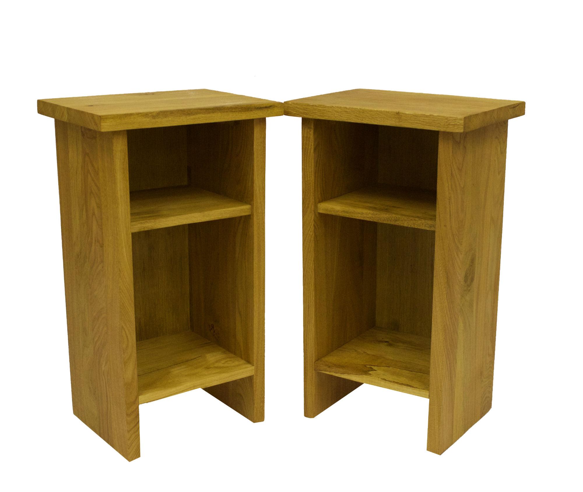 Oak bedside tabled