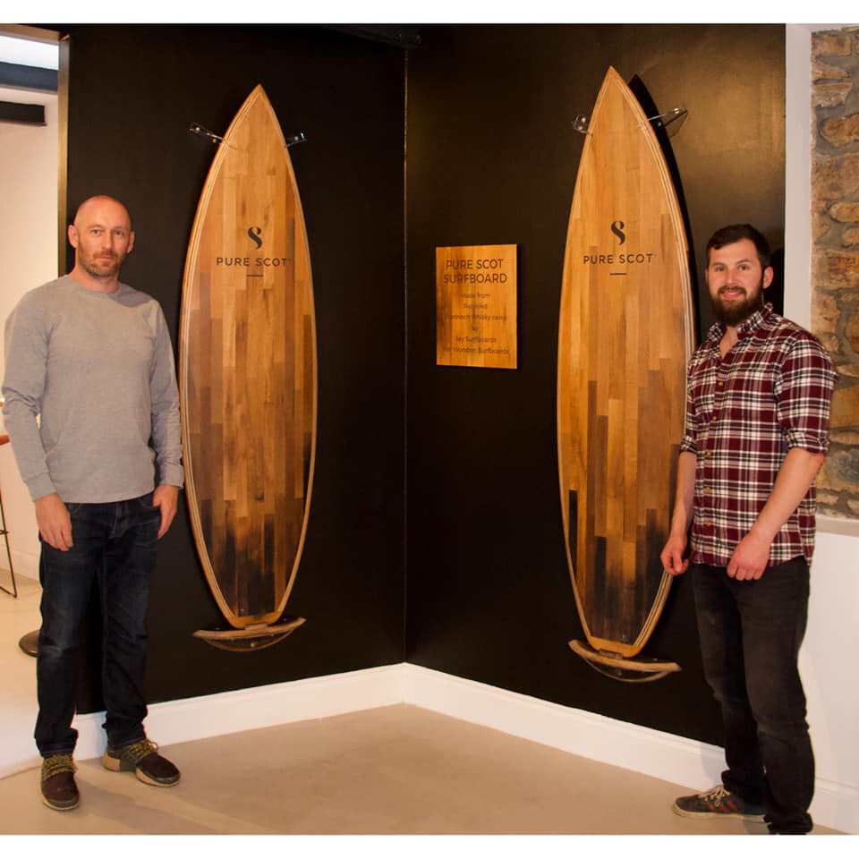 Whisky surfboards