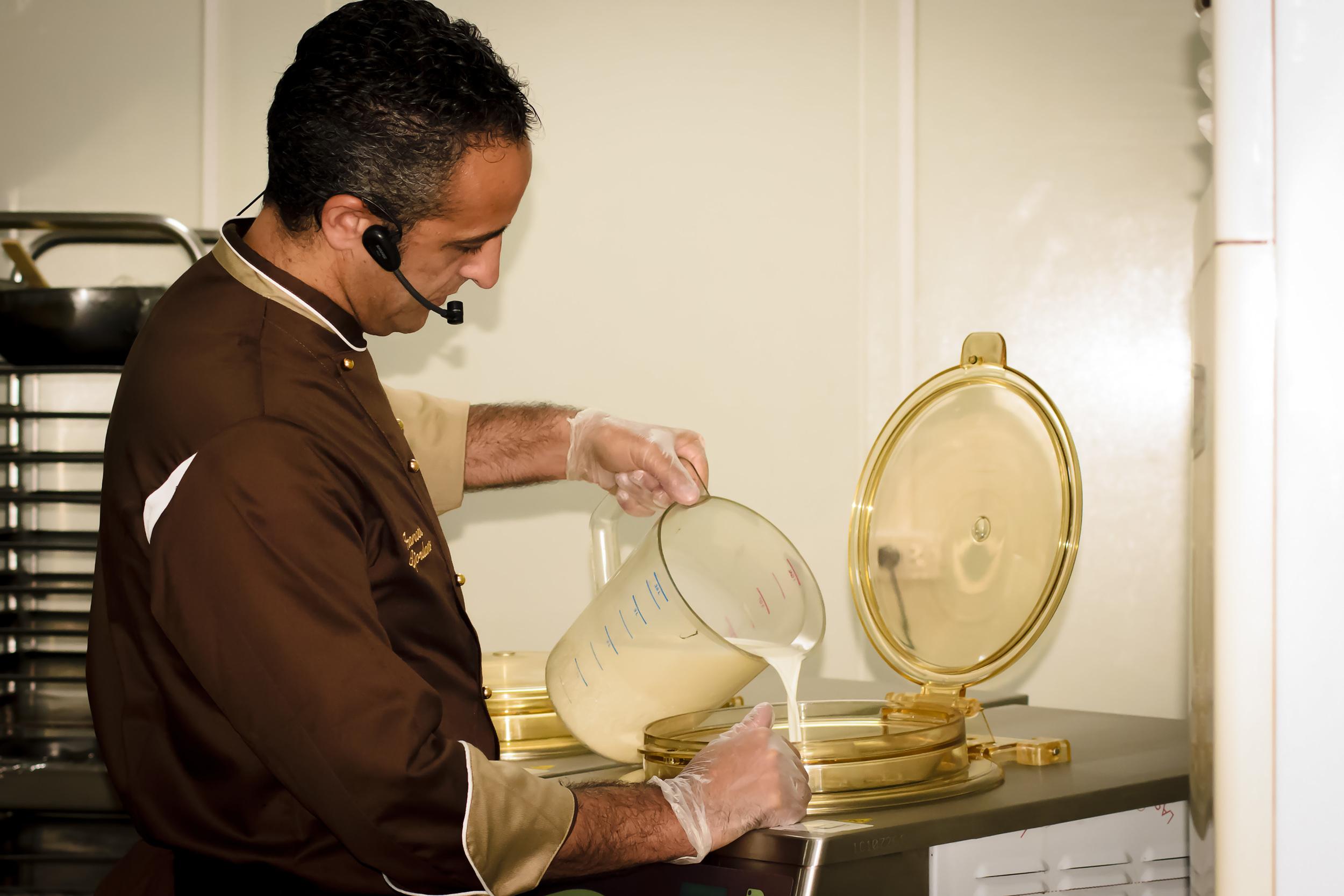 Chef Francesco Giordanofrom IceTeam