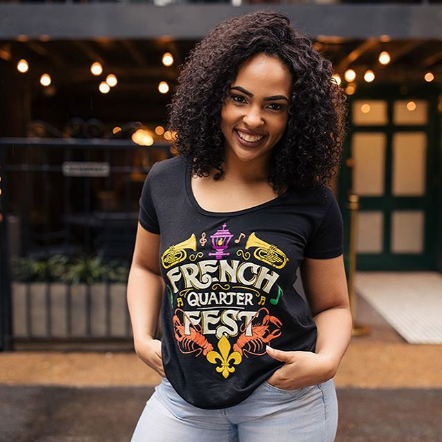 Hey ya'll check out this fun graphic I created for French Quarter Festival at my full time @a3merch . Makes me want that food so bad. #tshirtdesign #illustration #merch #graphicdesign #frenchquarterfest #nola #frenchquarter