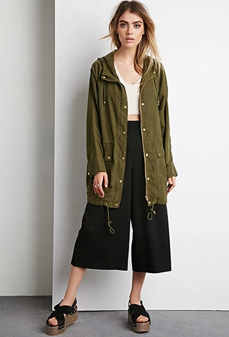 Hooded Utility Jacket $37.90