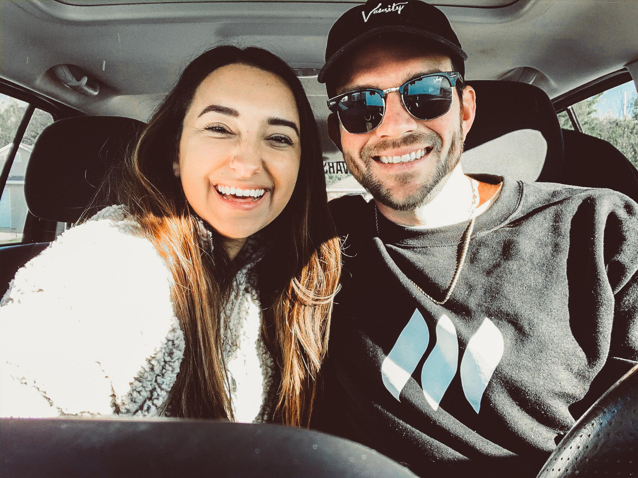 Founder Dylan and his fiance Olivia headed 8 hours from Kansas City to Nashville,   LET'S GOOOOO  !