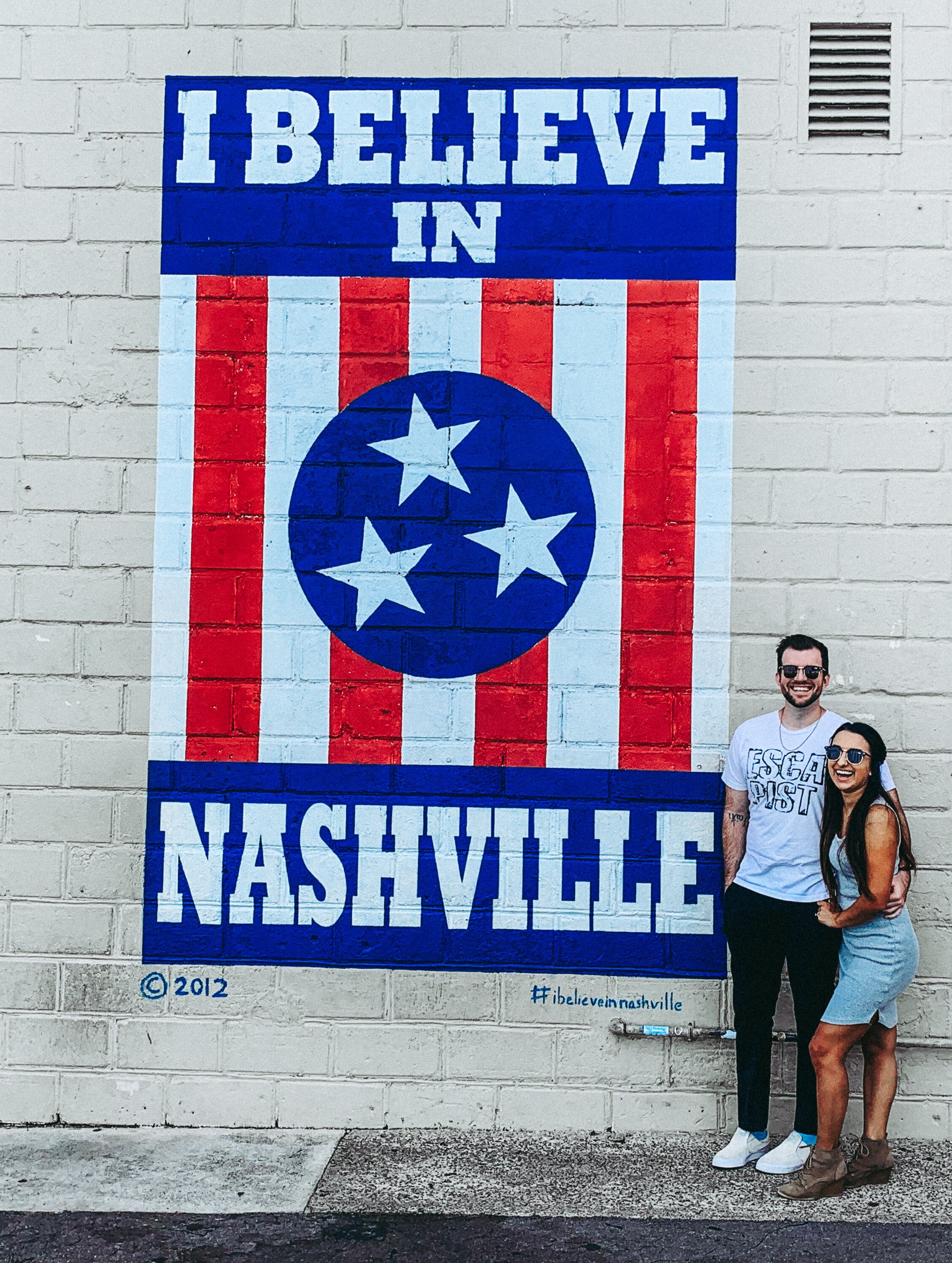 We finally made it to Nashville and decided to explore the city before we go to the Dove Awards.