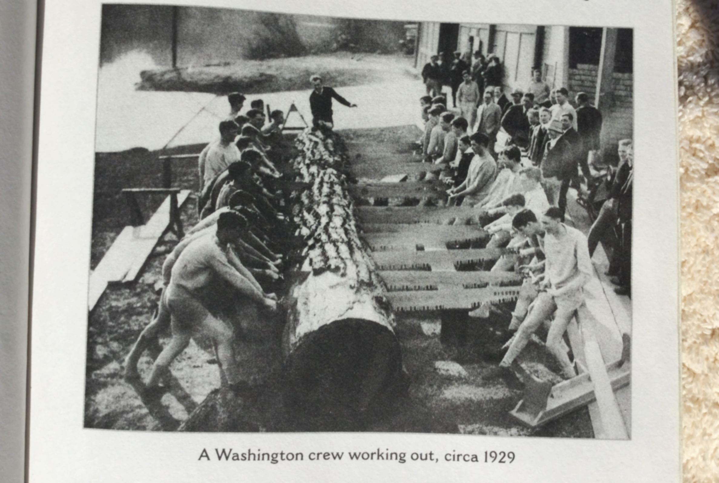 University of Washington athletes demonstrating their own take on functional training.