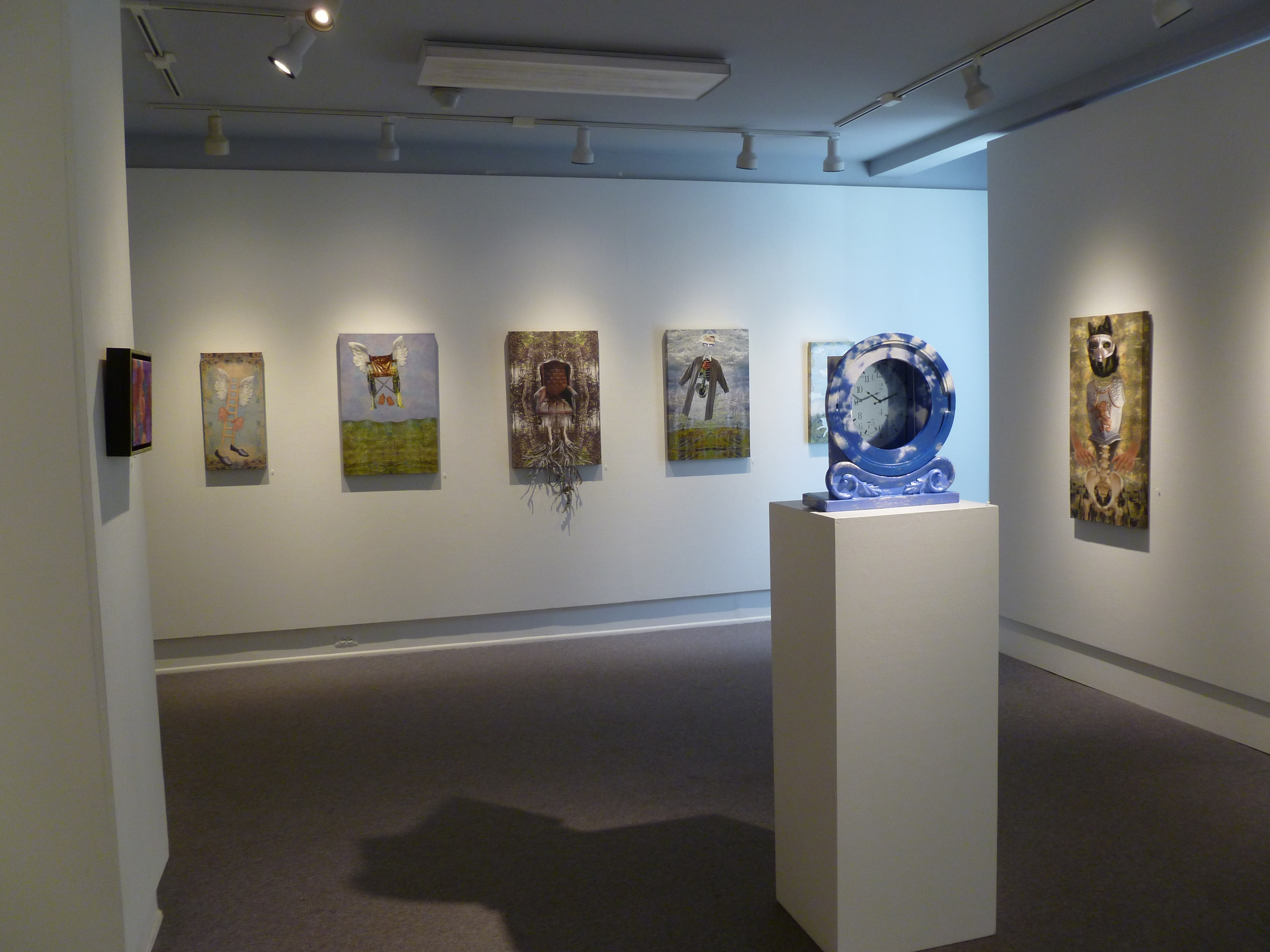 Image from solo show at Alliance Gallery, Narrowsburg, NY