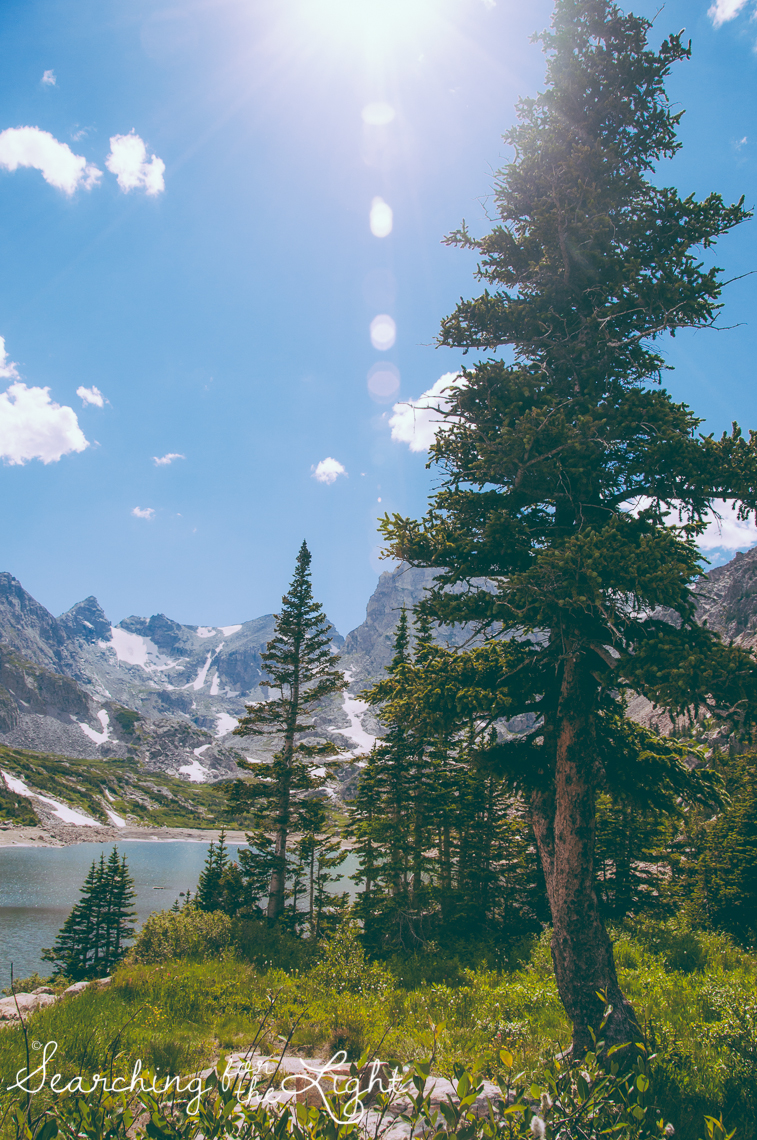 Lake Isabelle Hike in Colorado by a Denver Wedding Photographer