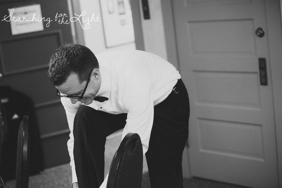 Getting Ready Boettcher Mansion wedding photos from a Denver wedding photographer