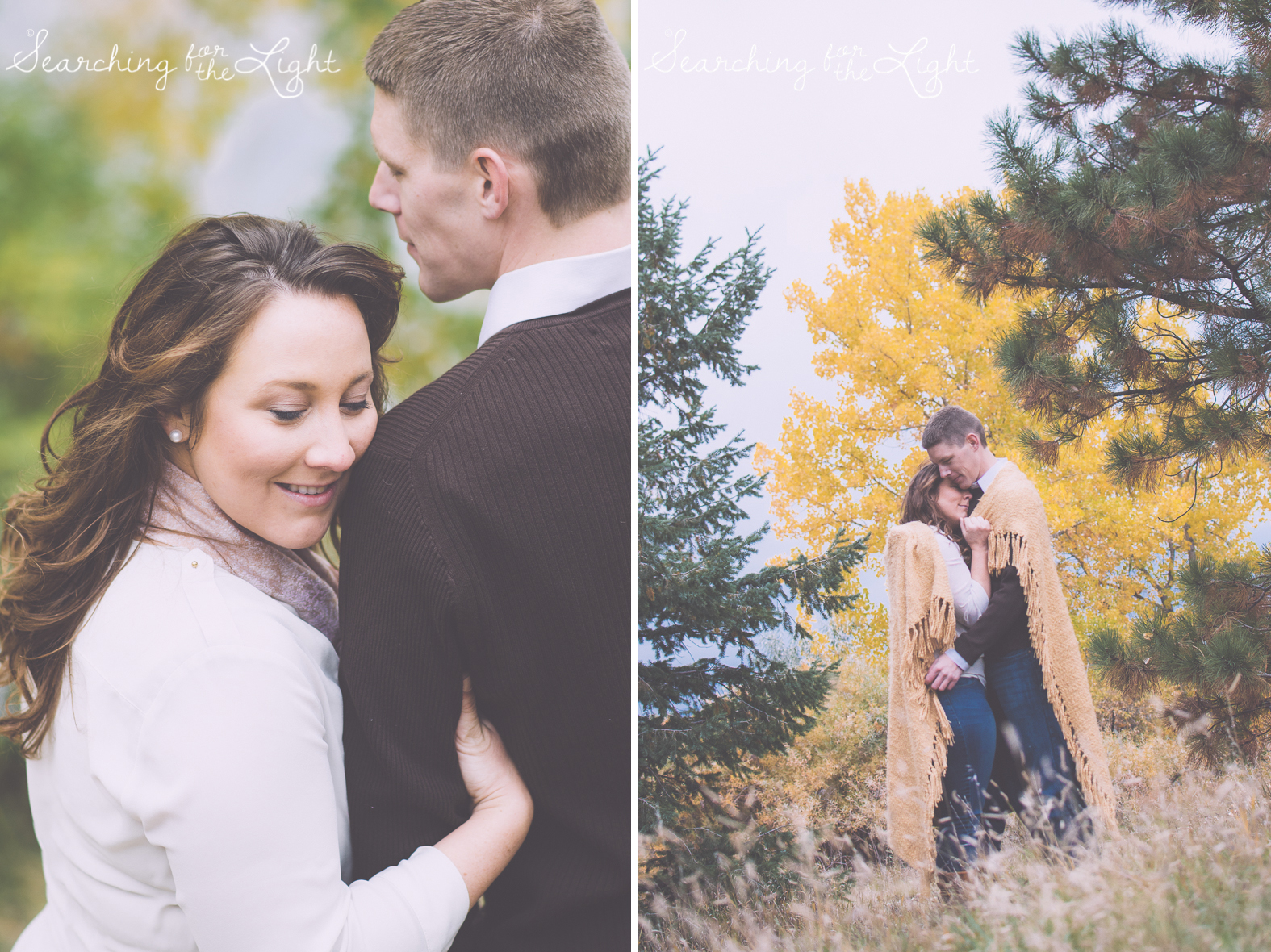 Denver Engagement Photos by Denver wedding photographer fall engagement photos