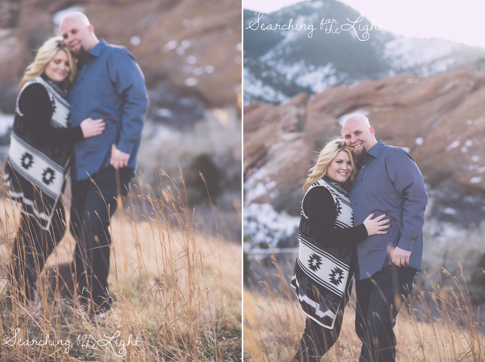 Denver Engagement Photos by Denver wedding photographer at Red Rocks