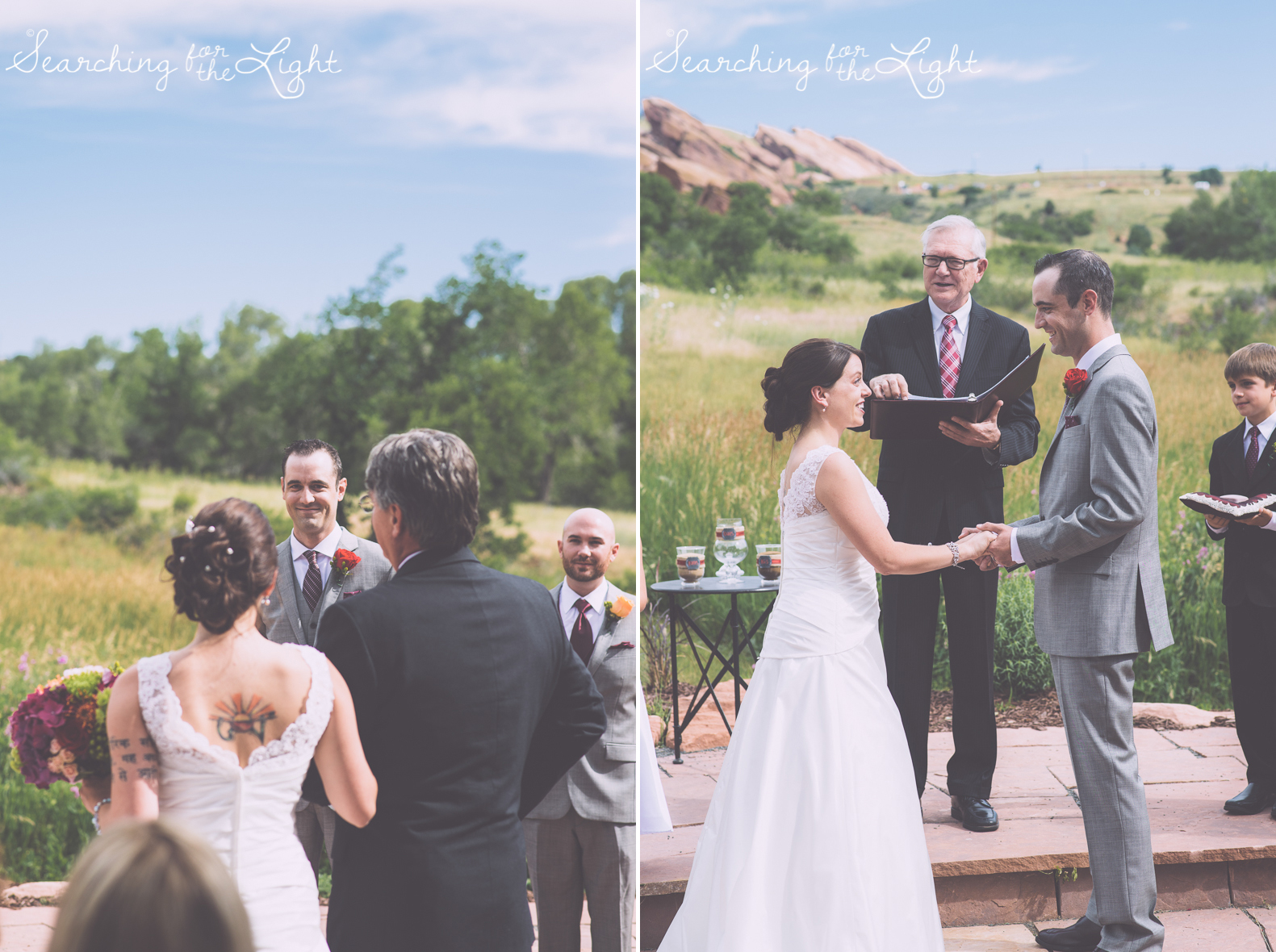 Red rocks wedding photo denver wedding photographer