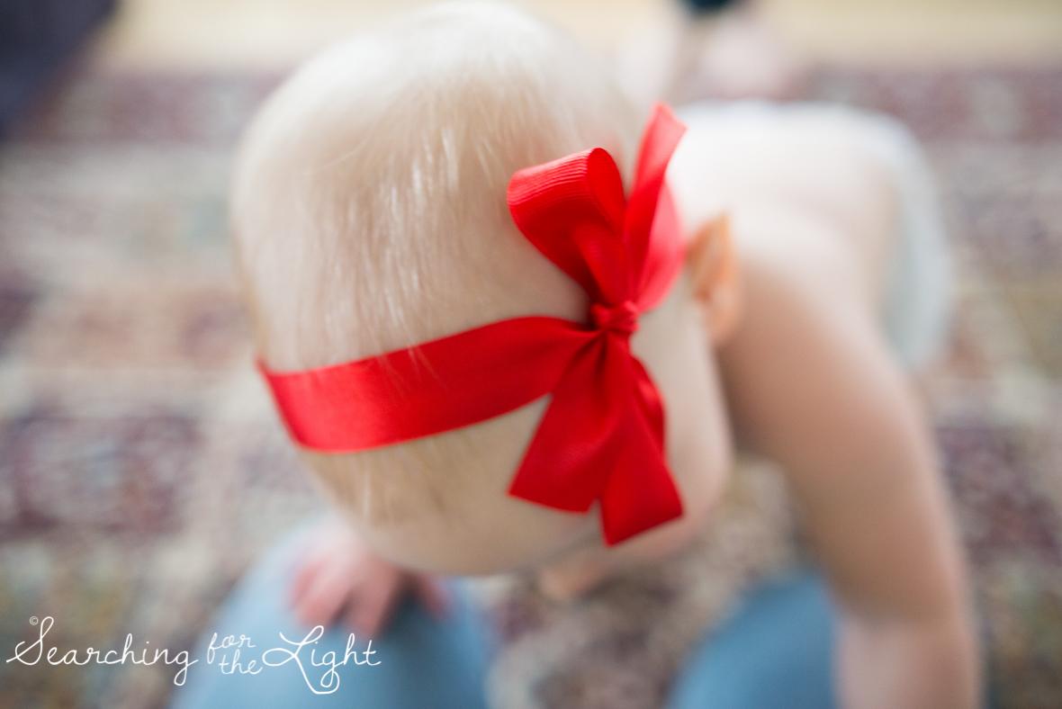 denver baby photographer, December baby photos, christmas baby photos,