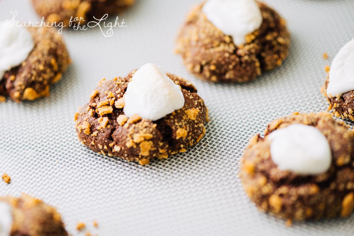 smores chocolate cookie recipe