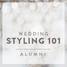 Wedding Styling 101 Alumni