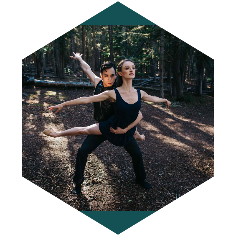 Expression - I'll work alongside you to go through the details of what you want to express as we plan your dance or yoga photo shoot. We'll do our best to find the right lighting, location and poses that express who you are as a dancer or yogi.