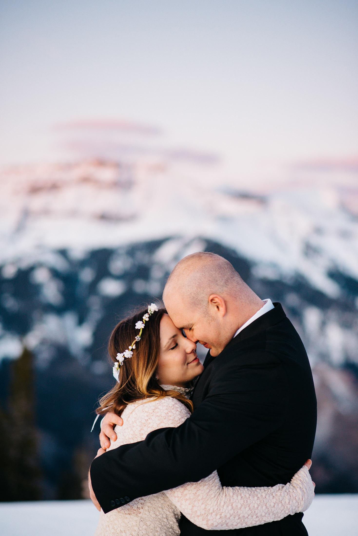 Adventure Mountain Denver Colorado mountain elopement photographer
