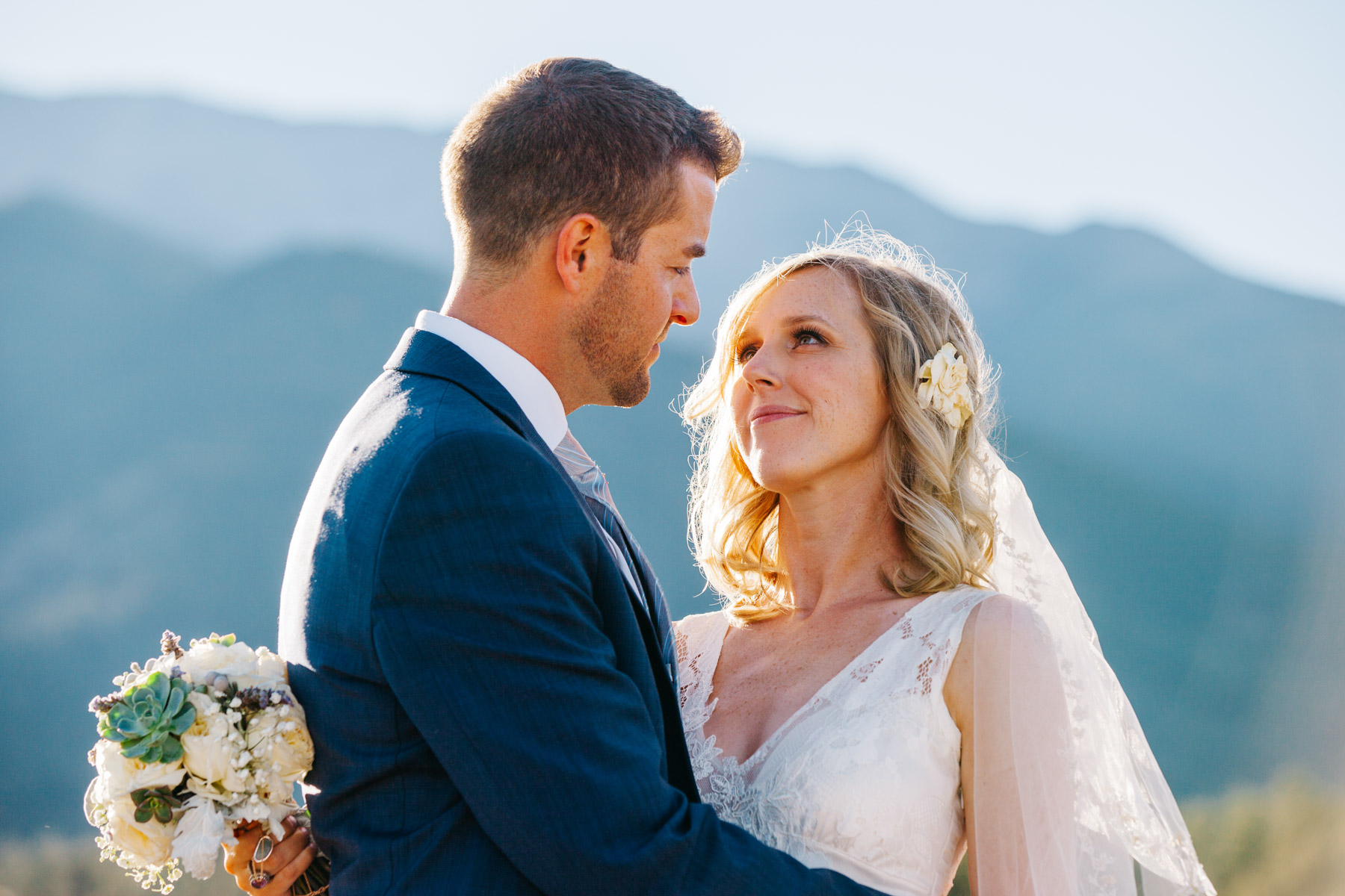 Mountain Denver Colorado mountain wedding photographer