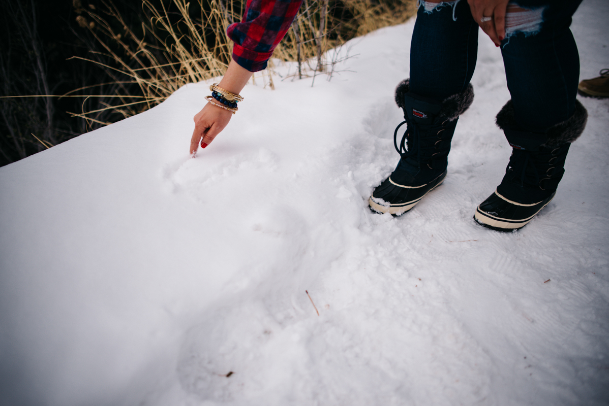 Anniversary Adventure Engagement Couple Photography | Mountain Denver Colorado.