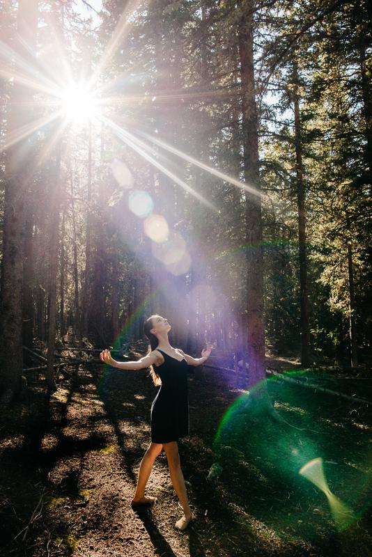Pas De Deux | Couple  Ballet Dance | Kevin & Sara {Mountain Denver, Colorado Ballet and Dance Photographer | Echo Lake Mount Evans Colorado}