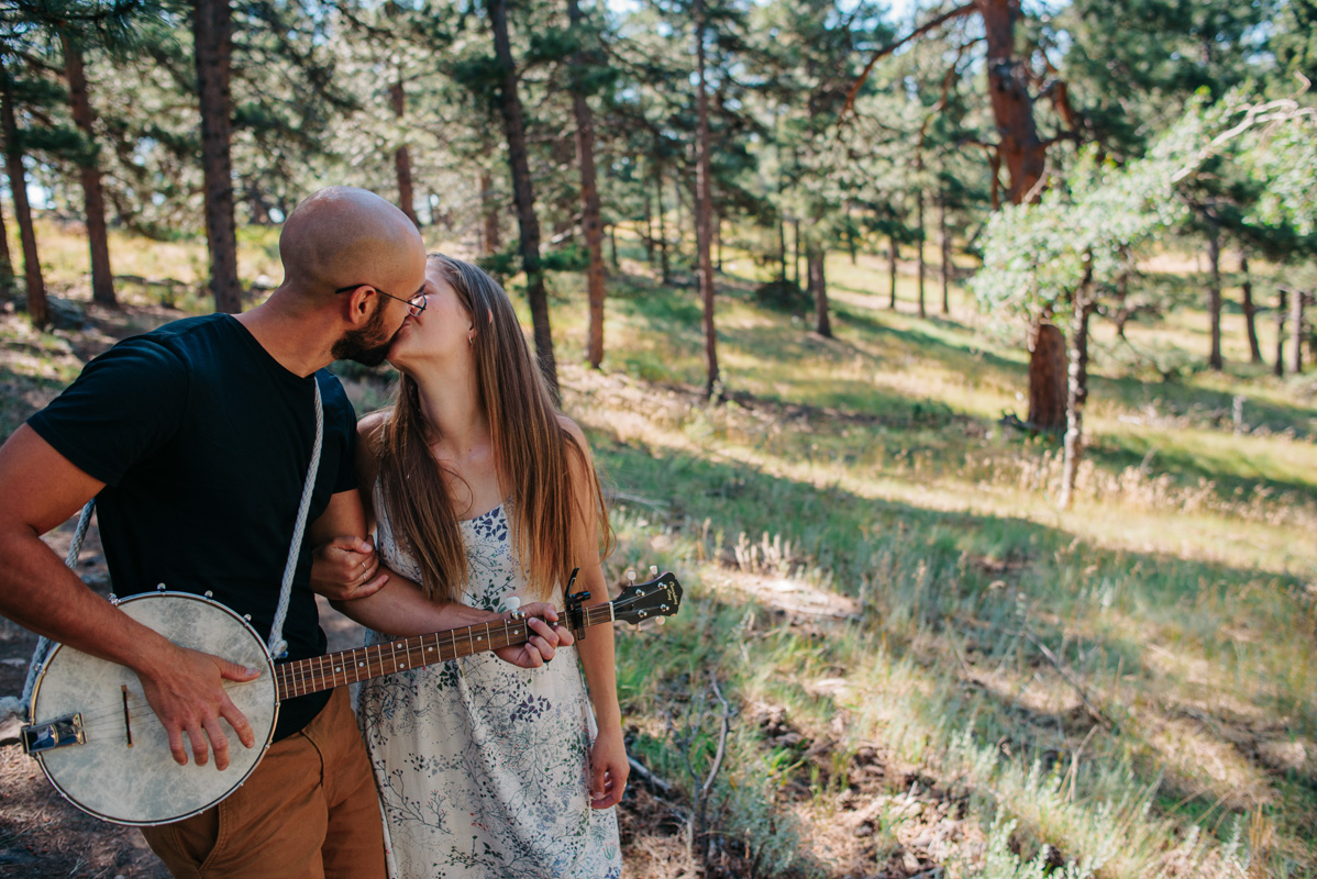 {Denver Anniversary Ideas | Anniversary Celebration Photography Session} | Jennifer & Daniel Couple Photography | Destination Mountain Anniversary Ideas