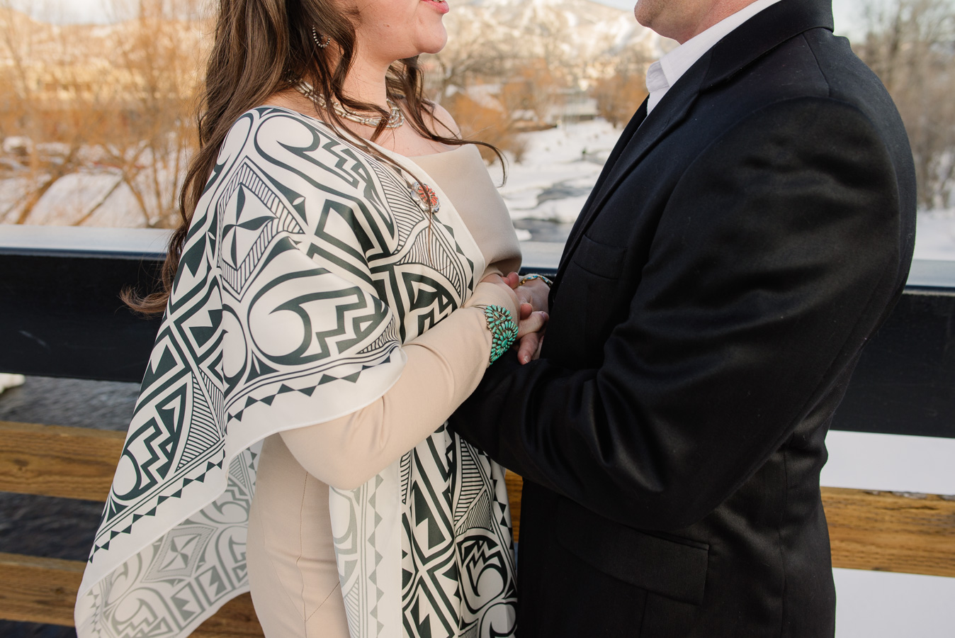 Steamboat Springs, Colorado Elopement {Melissa & Tim | Intimate Winter Wedding on the Yama River} | Steamboat Springs Intimate Wedding Photographer