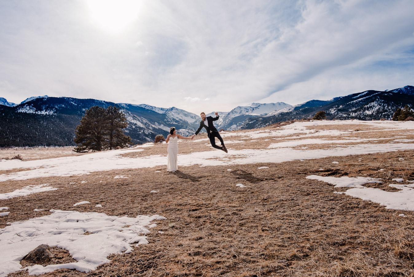Rocky Mountain National Park Elopement Photographer {Kenia & Colt | National Park Elopement Photographer} | Colorado Mountain Elopement Photographers