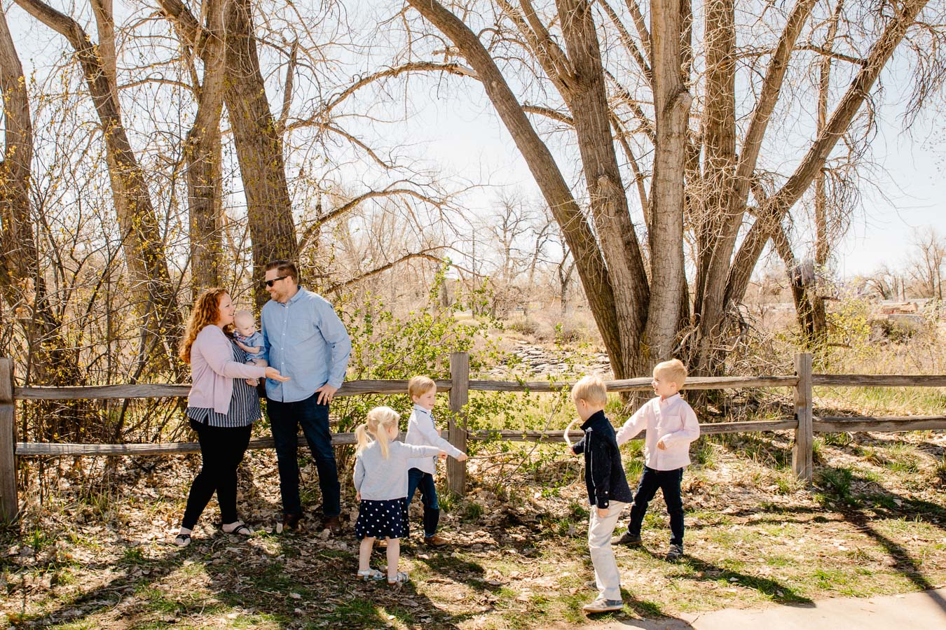 Denver Family Photographer {Shulz Spring Family Colorado Photos} By Brittany | Denver Colorado Lifestyle Family Photos