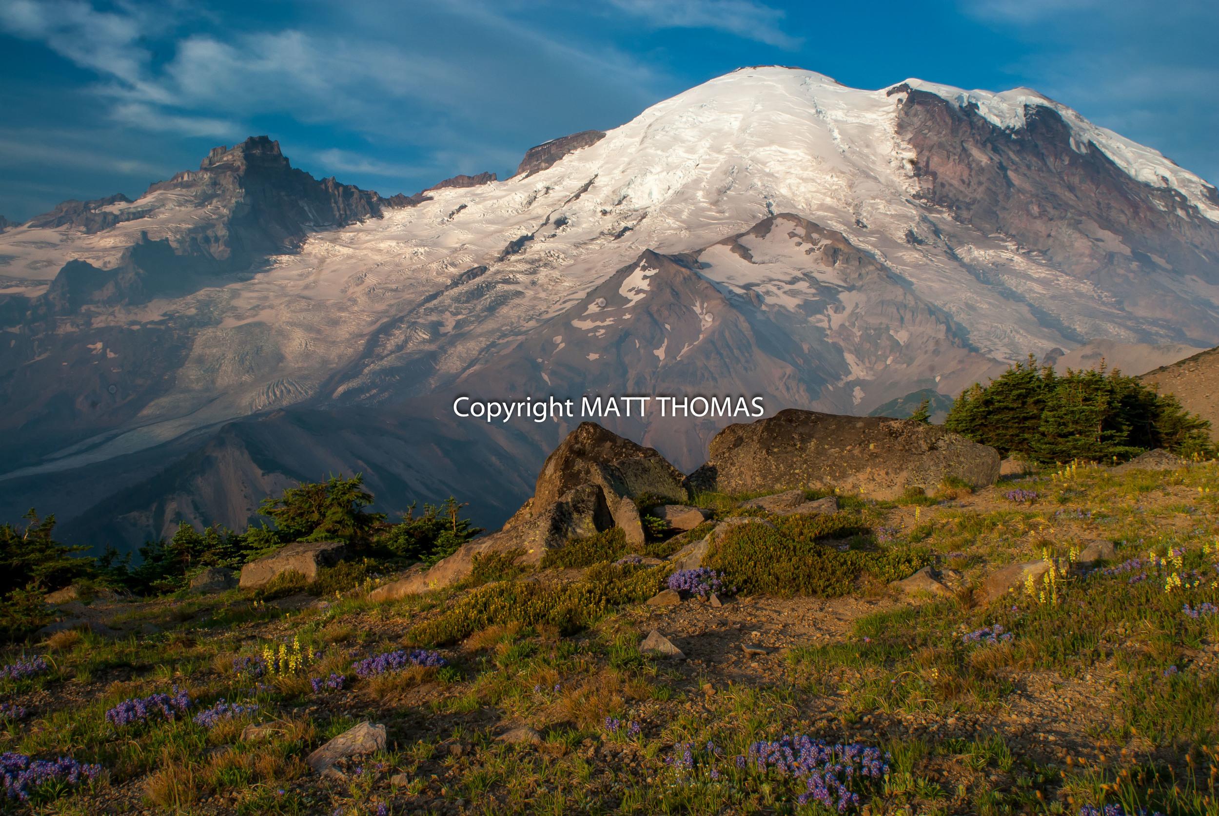 Mt. Rainier from 1st Burroughs