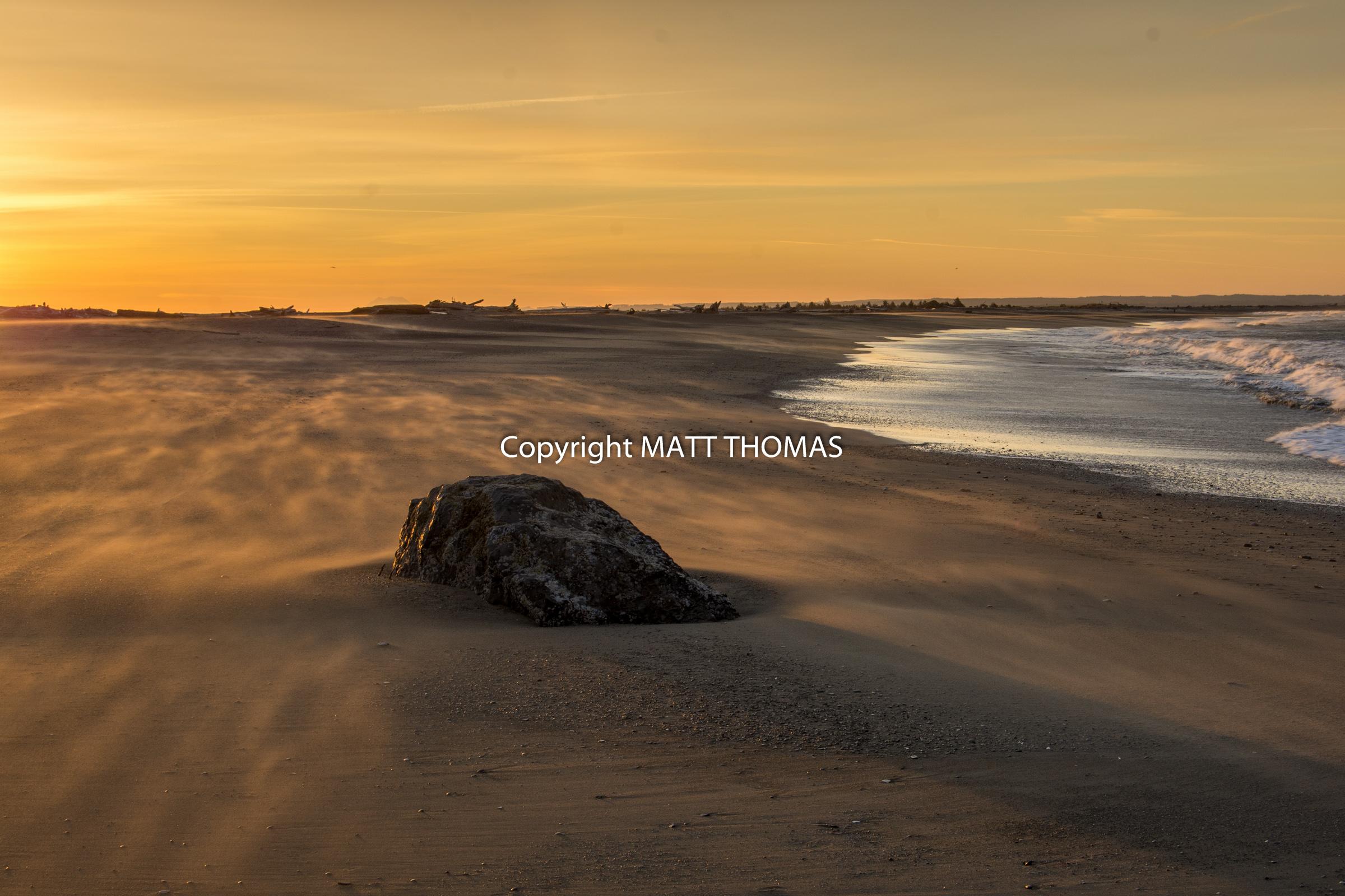 Damon point- Ocean shores, Wa.