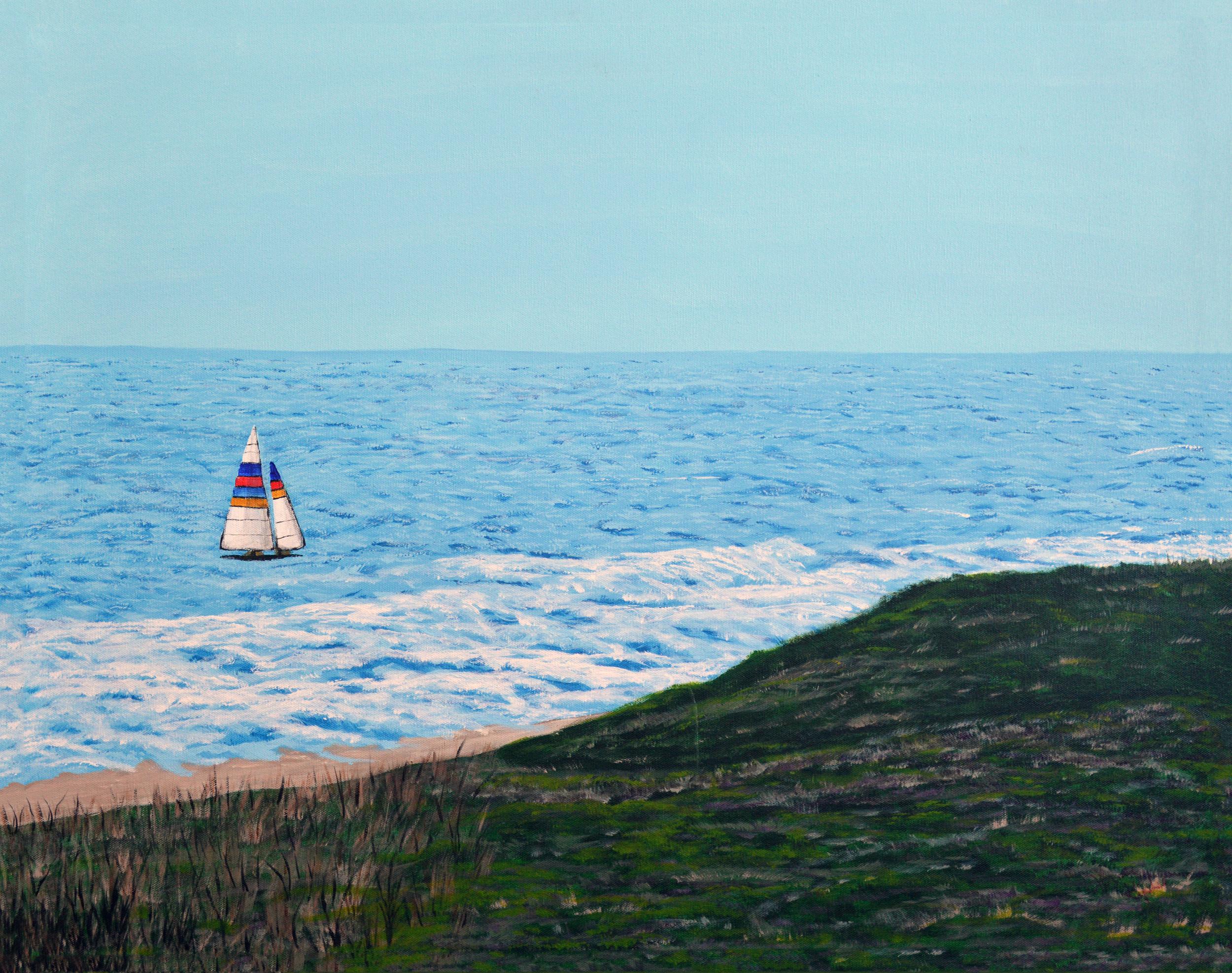 Sailboat On Gulf