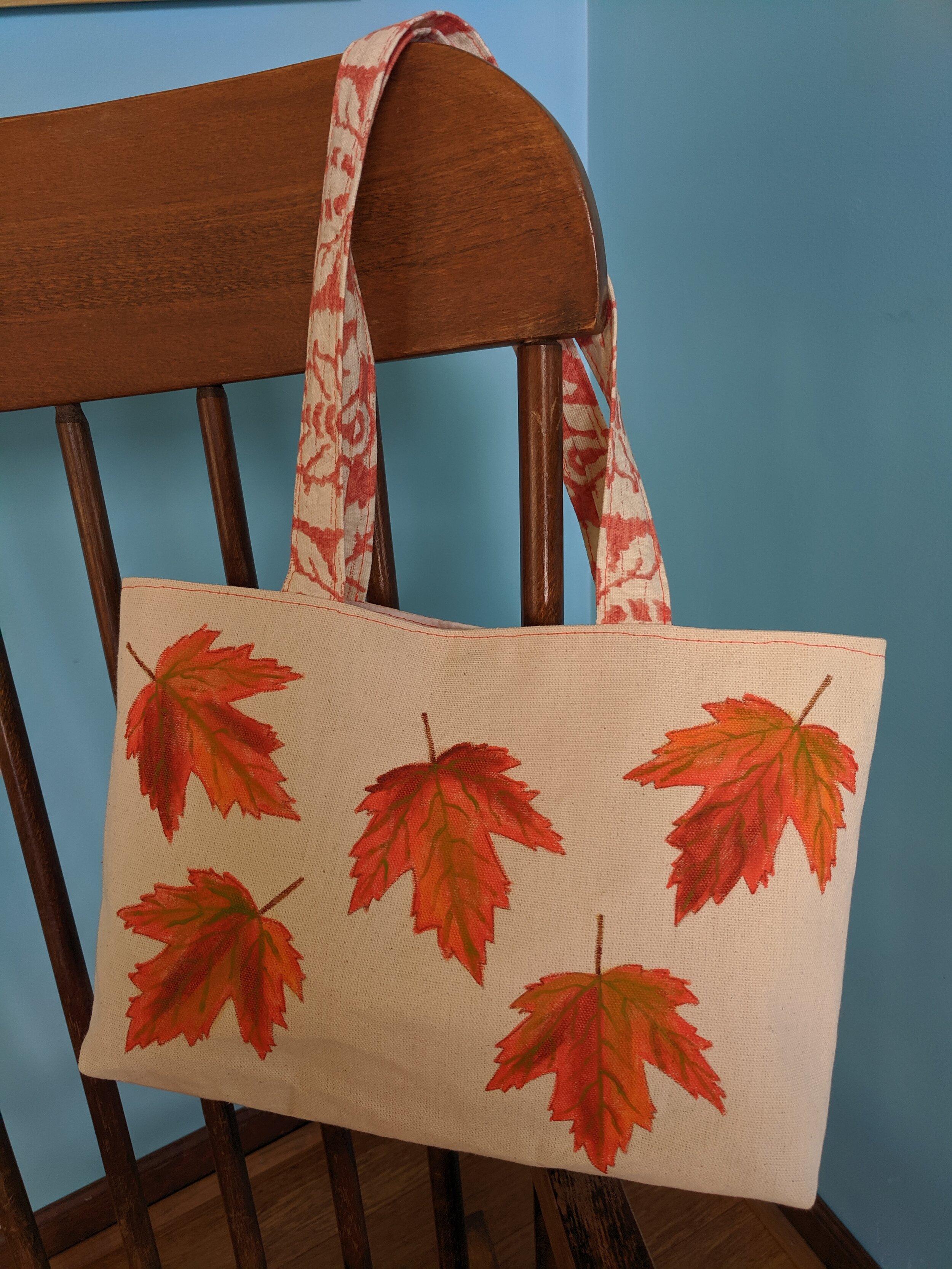 5 Maple Leaves Bag