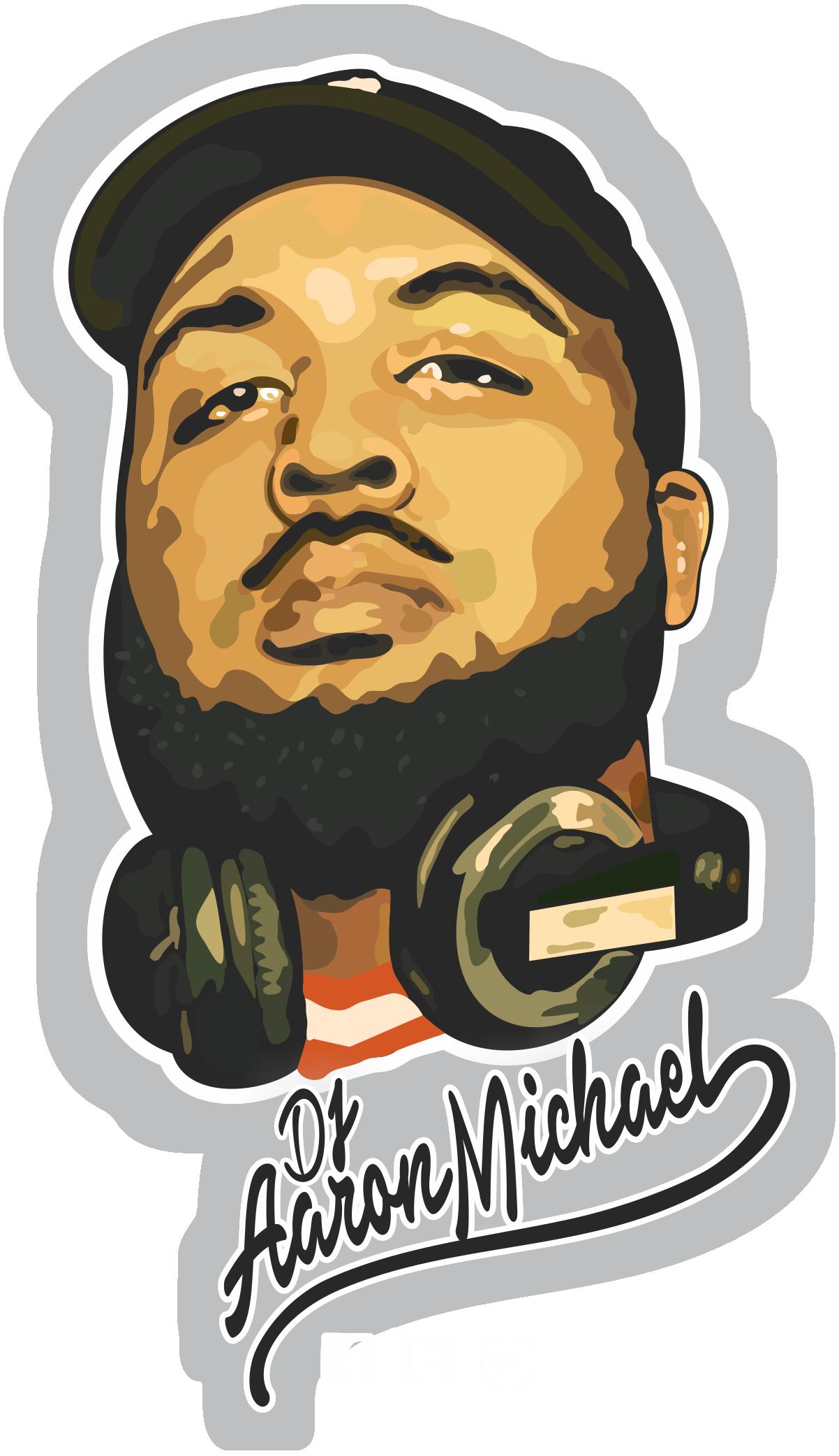 DJ Aaron Michael Logo
