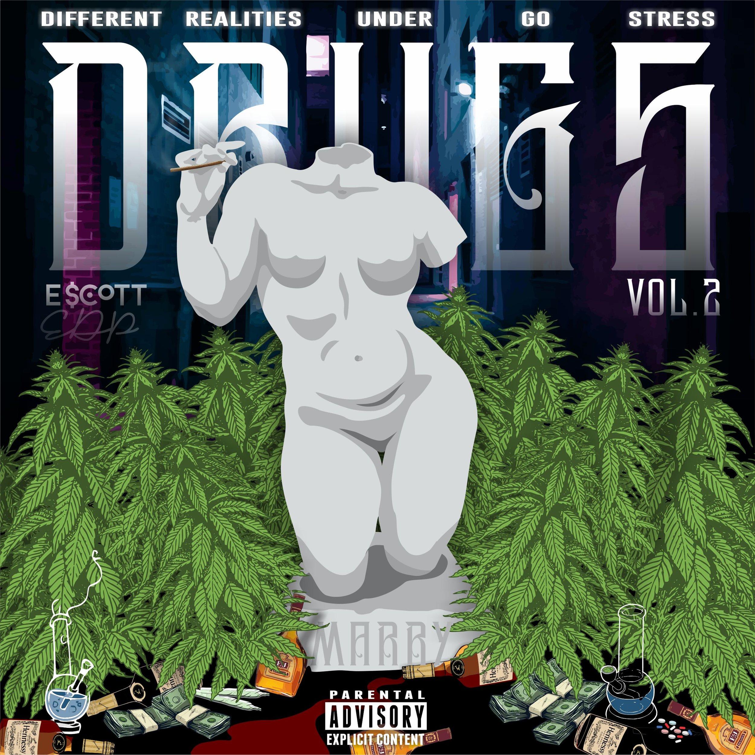 E $cott D.R.U.G.S 2 Album art
