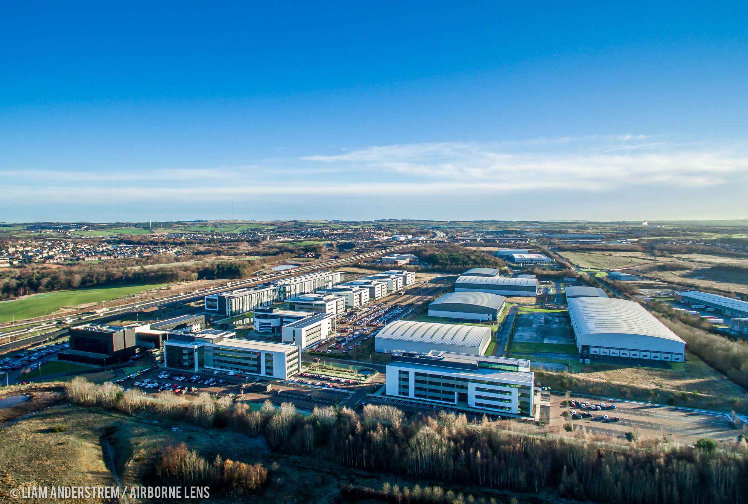 Maxim Office Park at Eurocentral, strategically located between Edinburgh and Glasgow