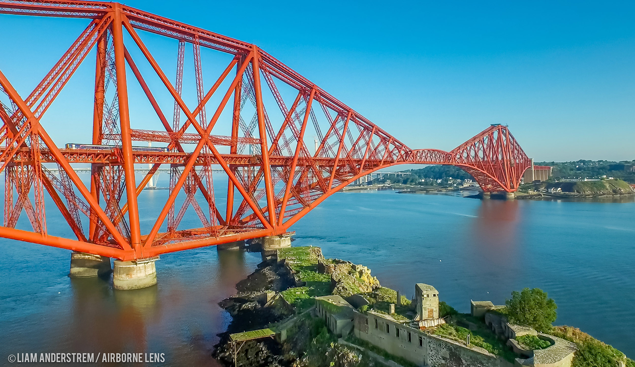 Aerial Photography and Drone Filming Scotland from professional photographer, filmmakers and video production by Airborne Lens
