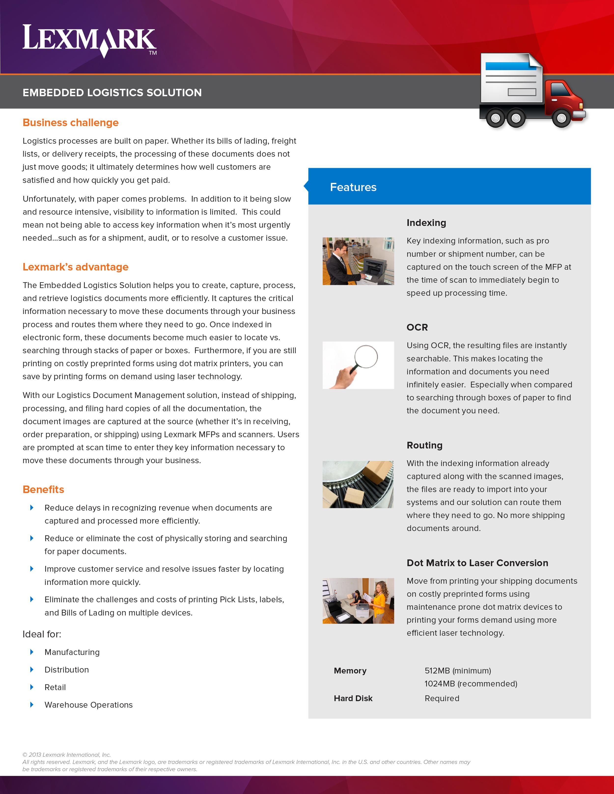 Embedded Logistics Battlecard Front