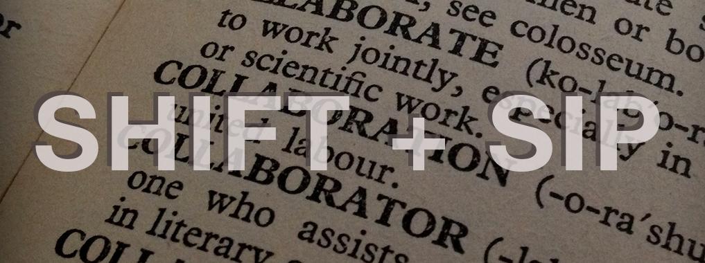 Shift + Sip Banner