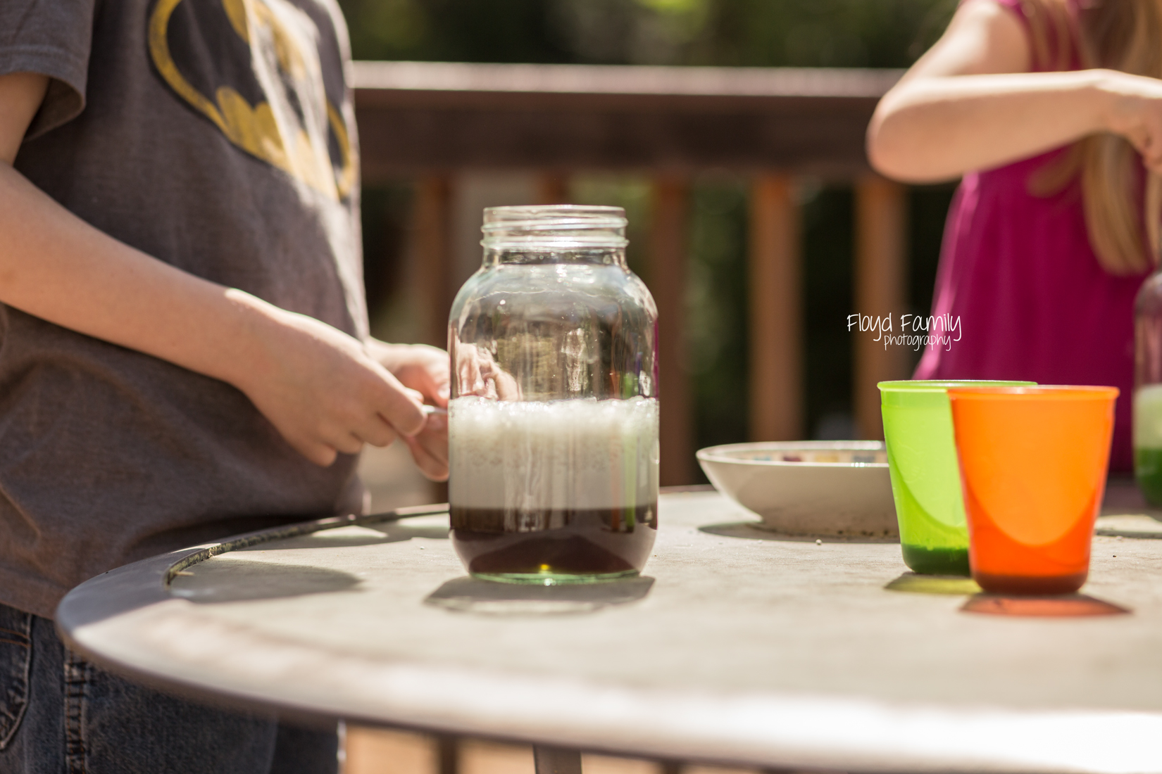 kids with science projects | Placerville\Children\Photographer