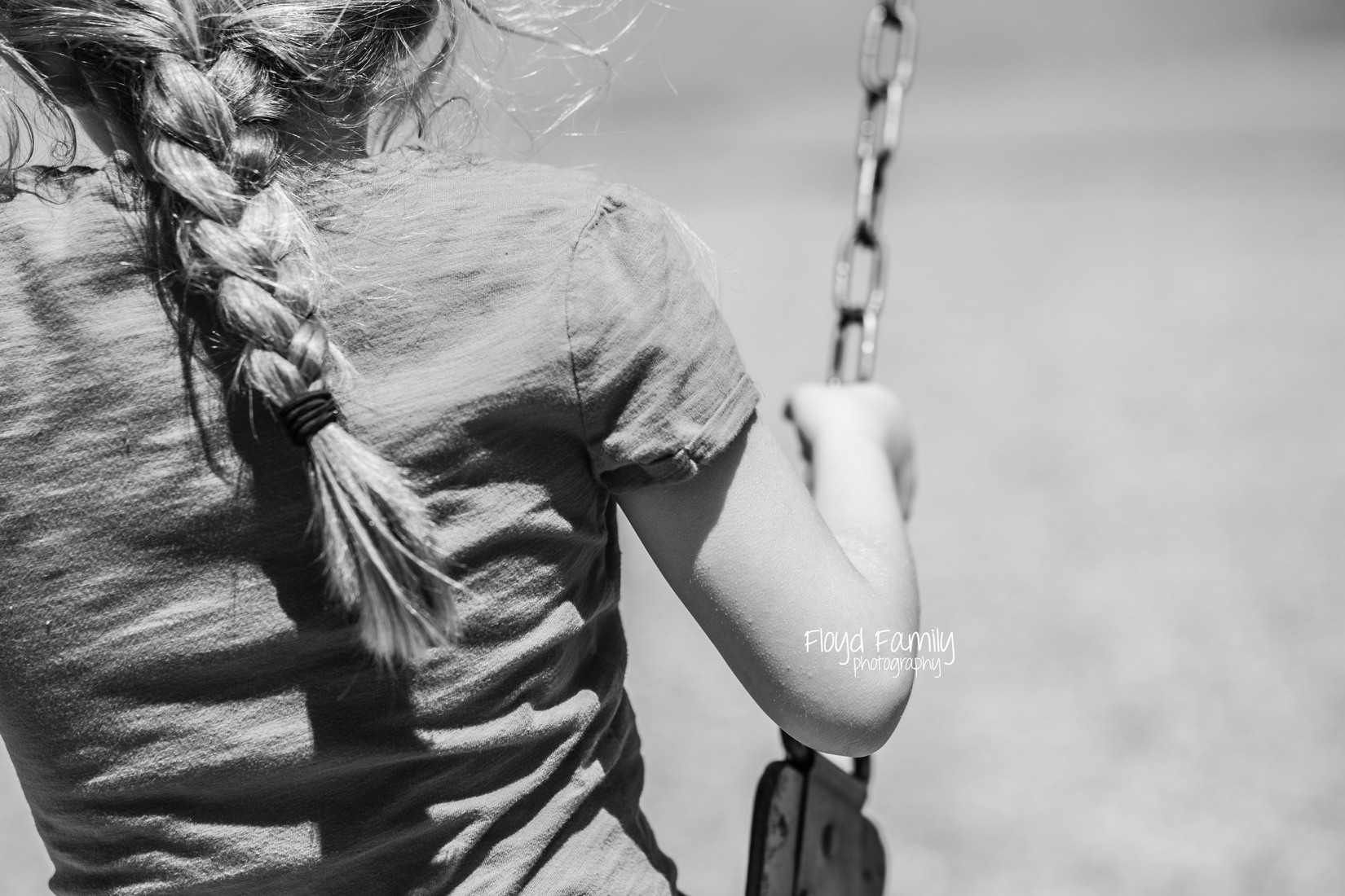 daughter on the swing | Placerville-Children-Photographs