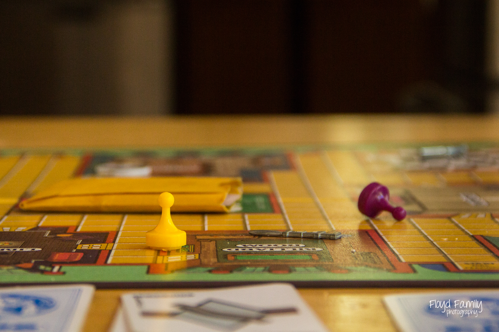 Playing the game of clue | Placerville Family Documentary Portraits