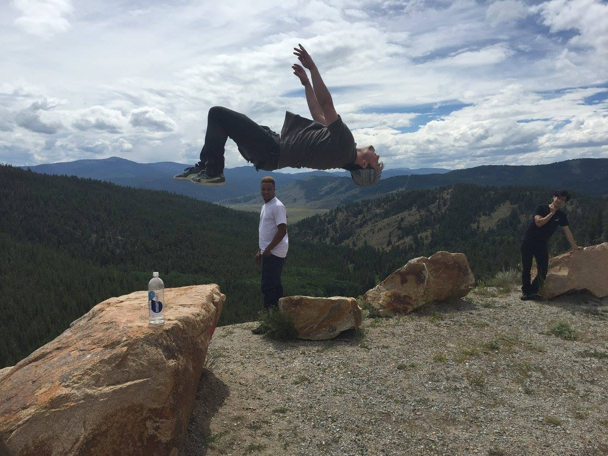 I've backflipped in over 6 states. Eat your heart out, Nastia Liukin.