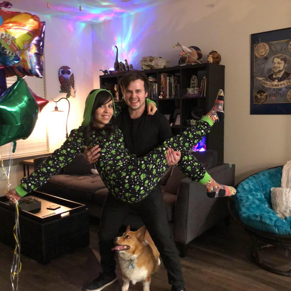 March 8th, 2018 on Tiff's birthday