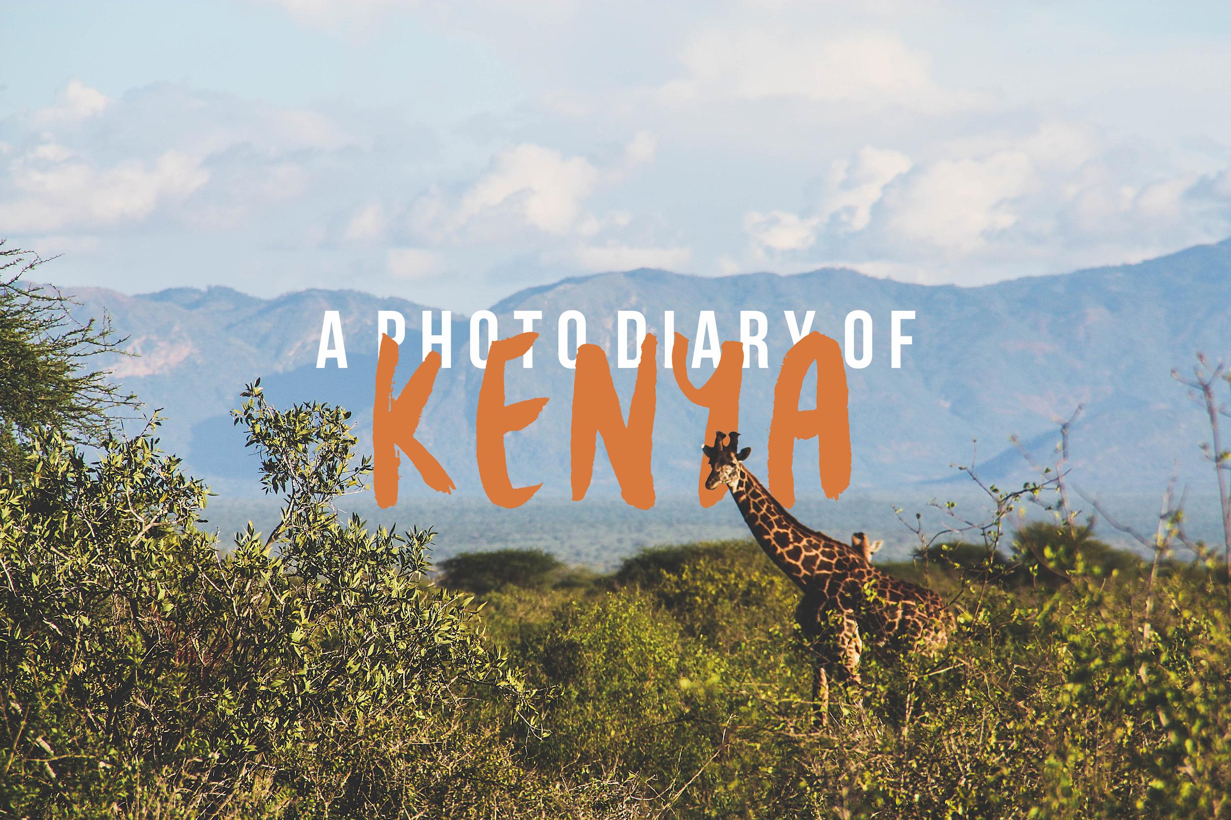 A photo diary of Kenya