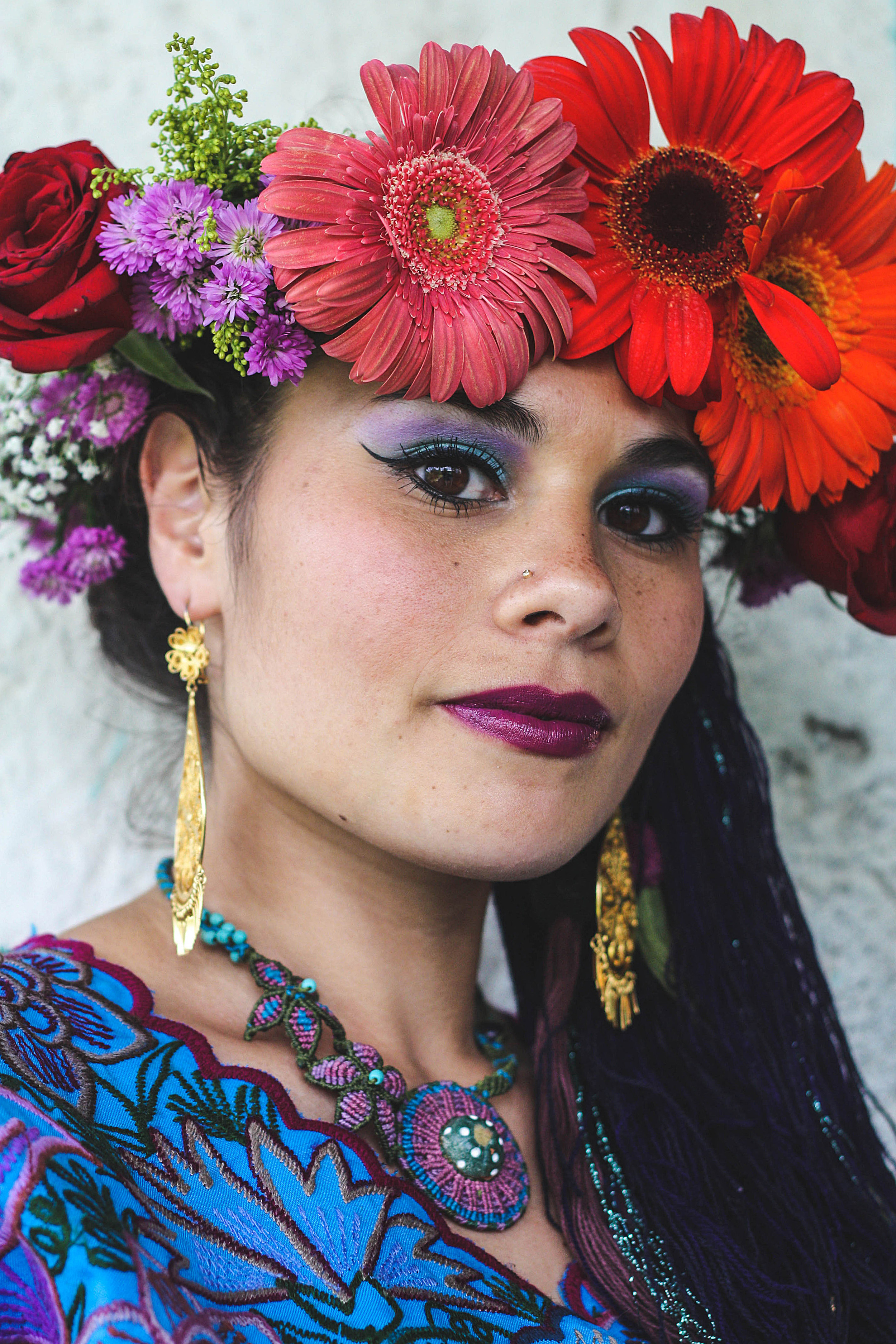 Frida Kahlo, maar dan mooier.
